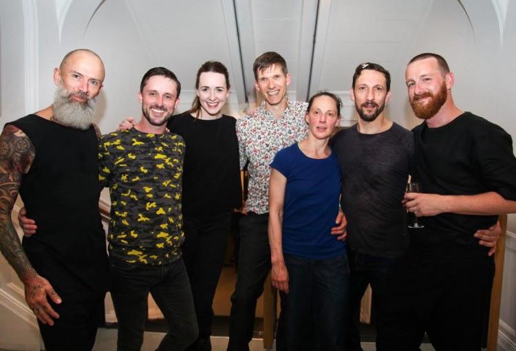 Matthew Morris, Philip Connaughton, Liv O'Donoghue, Fearghus Ó Conchúir, Bernadette Iglich, Mikel Aristegui, Theo Clinkard