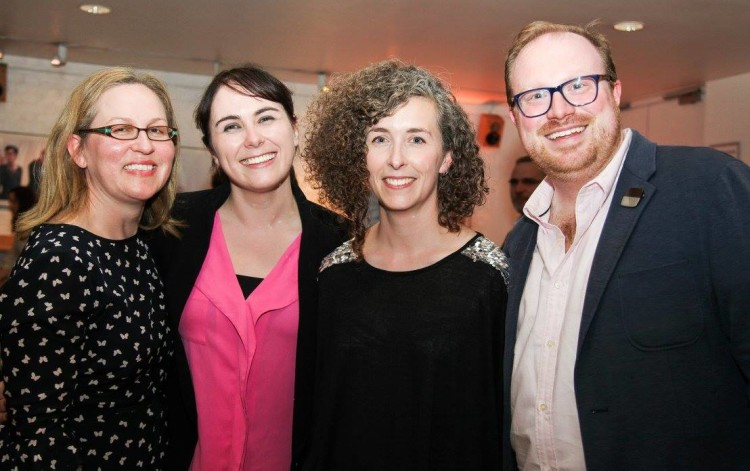 The Casement Project team: Annette Nugent, Kate O'Sullivan, Lian Bell and Cian O'Brien
