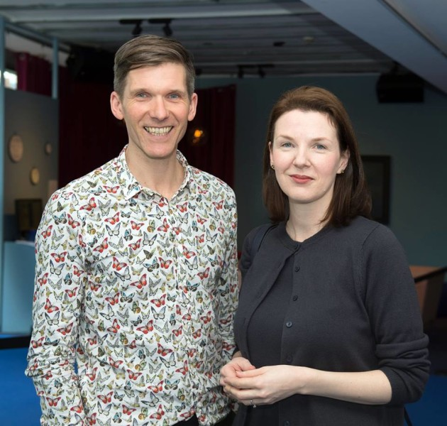 Fearghus Ó Conchúir and Karen Downey (Project Manager, ART:2016)
