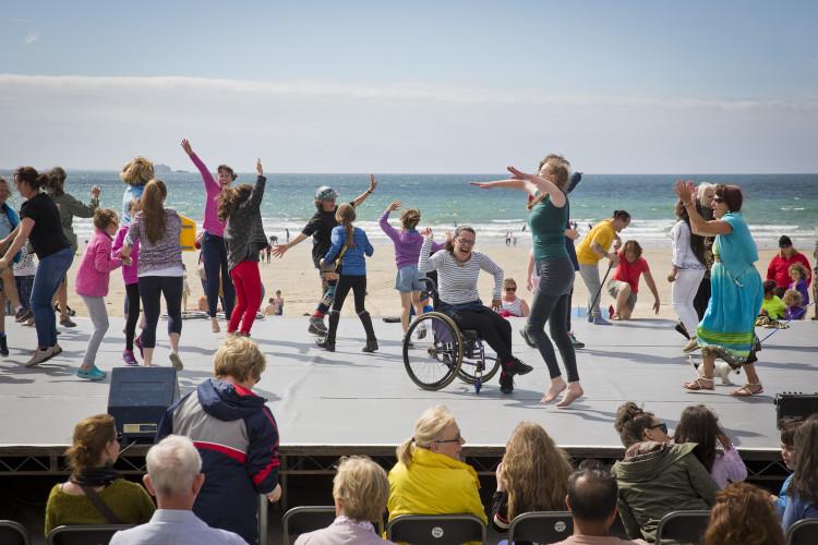 Getting everyone dancing Croí Glan's 'Rhythm of Fierce'