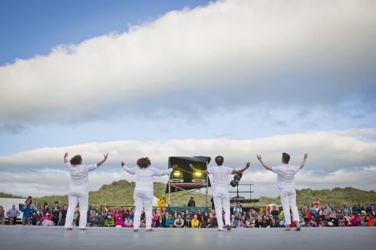 John Scott's Irish Modern Dance Theatre and their piece, 'Precious'